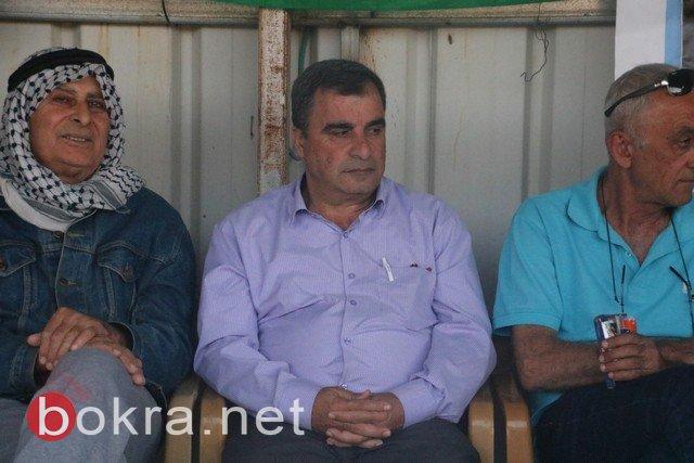 افتتاح خيمة الكرامة بعرعرة دعمًا للأسرى المضربين من أجل حريتهم