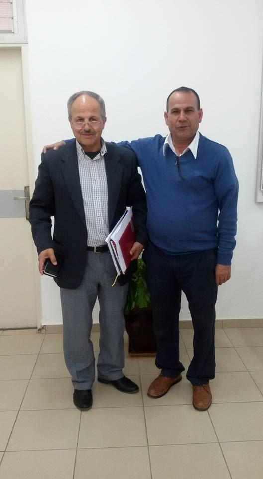 إدارة مجلس الشبلي أم الغنم تجتمع مع البروفيسور خمايسي للتقدم بقضية الخارطة الهيكلية