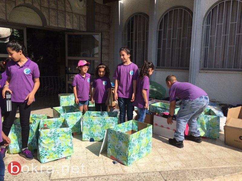 طلاب الرؤى وعطاءهم في شهر الخير
