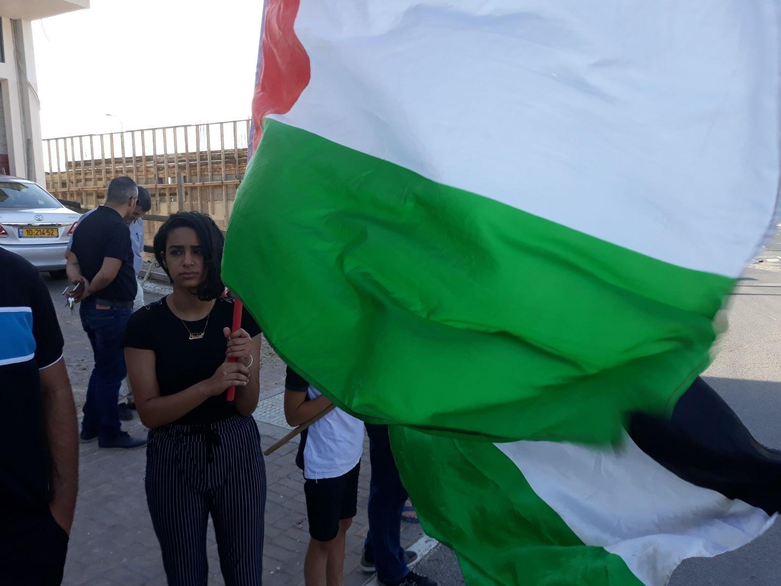 في مظاهرة اهالي جديدة المكر: القدس عاصمة فلسطين الأبدية