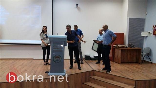 حفل تخريج الفوج الاول للمشاركة المجتمعية في اكاديمية القاسمي