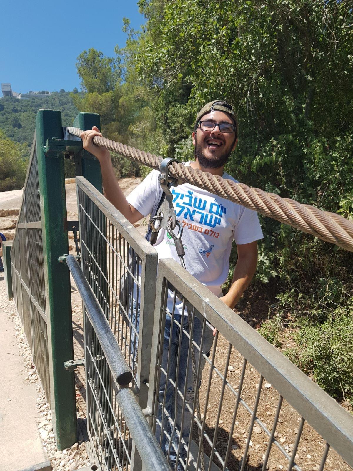 جمعيّة حماية الطّبيعة في مخيّم صيّف وكيّف - عين الأسد