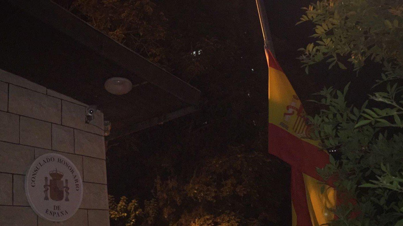القنصل أبونصار ينعى ضحايا الارهاب في برشلونة ويقيم صلاة لاجلهم