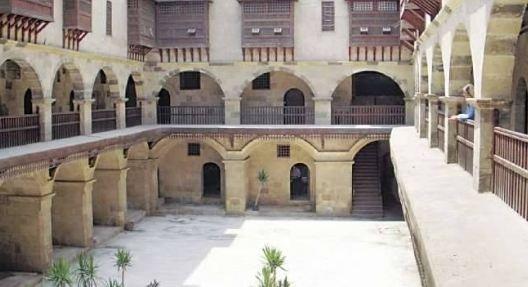 وكالة بازرعة من متجر خشبي لمزار أثري في مصر
