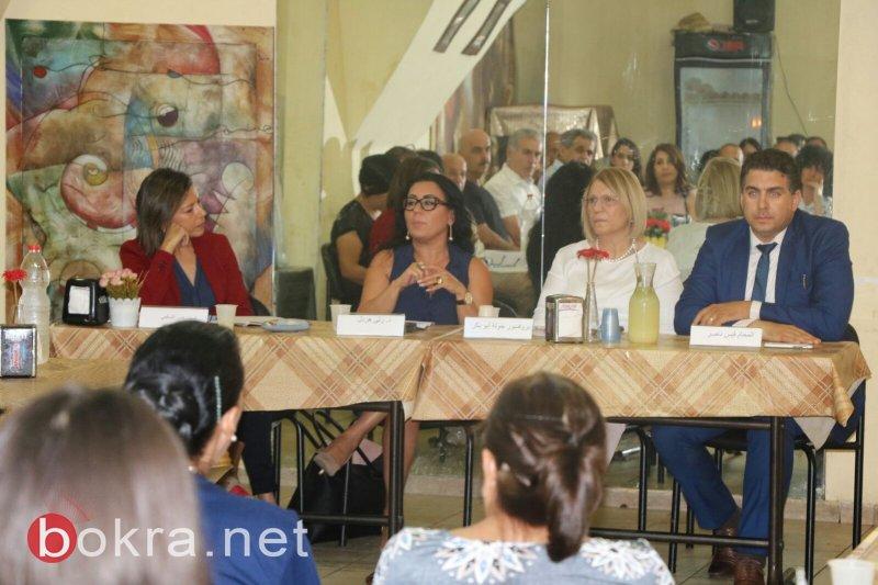 إعلام يناقش التقرير الاستراتيجي مع اعضاء صالون غسان كنفاني العكيّ