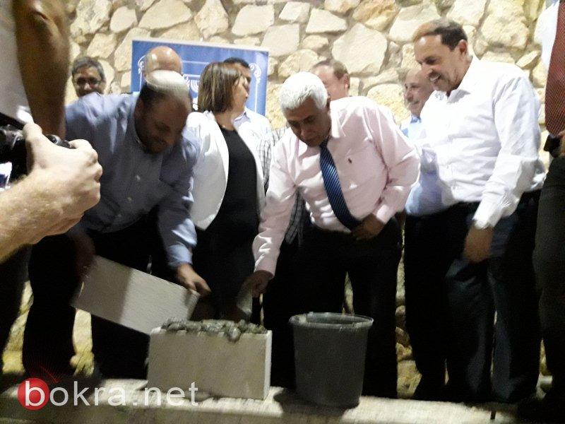 وضع حجر الأساس لمركز التراث البدوي بالشبلي أم الغنم بمشاركة الوزيرة غمليئيل