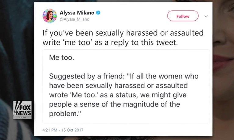 MeToo: وسم يفضح التحرشات الجنسية في هوليوود