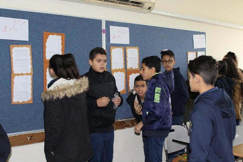 طبقة السوابع في المدرسة الشاملة الف شفاعمرو تبدع بيوم العلوم