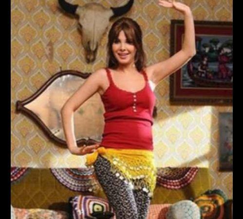 نانسي عجرم في وصلة رقص شرقي قبل خسارة الوزن!