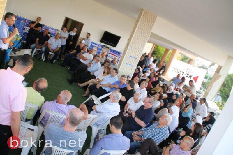مشاركة واسعة من مسؤولين، نواب وموظفين باجتماع دعم نيسكورن لرئاسة الهستدروت في نين