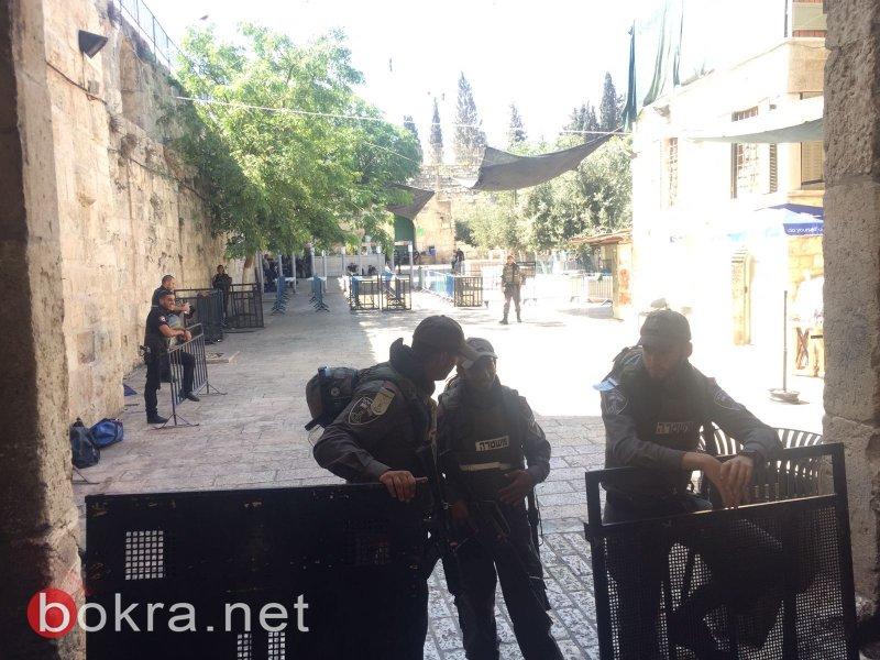 مفتي القدس: اتركوا كل مساجد القدس وتوجهوا للأقصى لصلاة الجمعة هناك