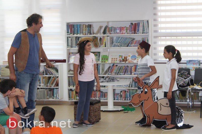 شهر الثقافة والأدب في المكتبة العامة التابعة لبلدية باقة الغربية