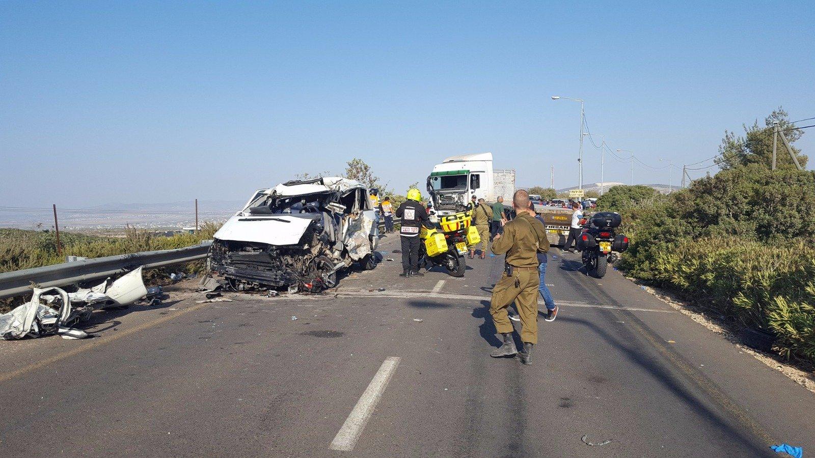 يعبد: حادث طرق مروّع و- 5 قتلى