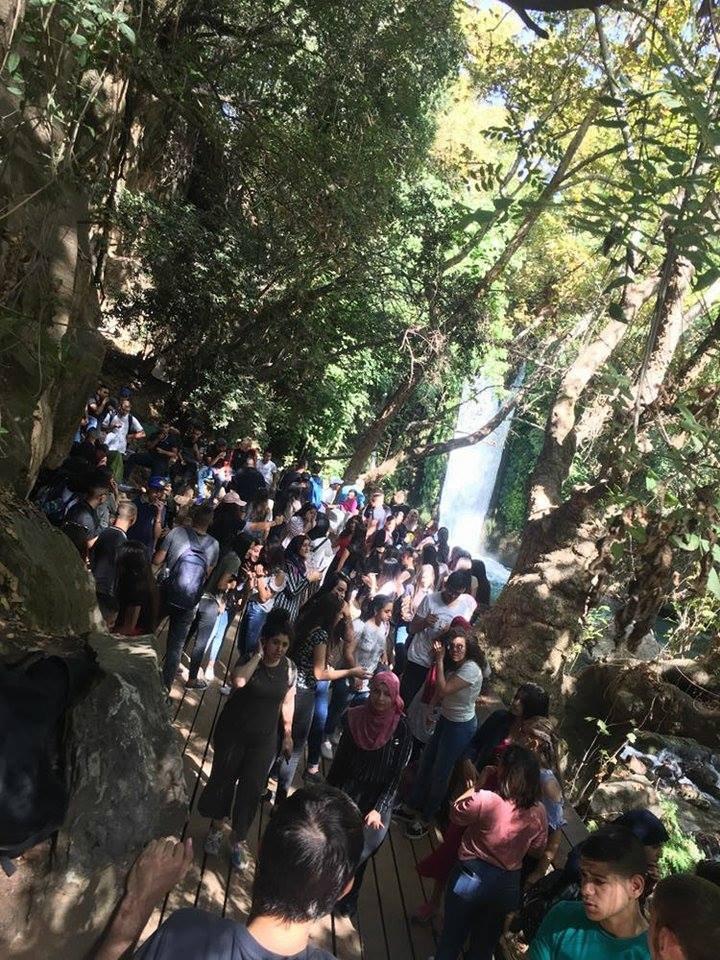اجواء رائعة في المسيرة السّنويّة التّقليديّة التي نظمتها ثانوية بيت الحكمة في الناصرة.