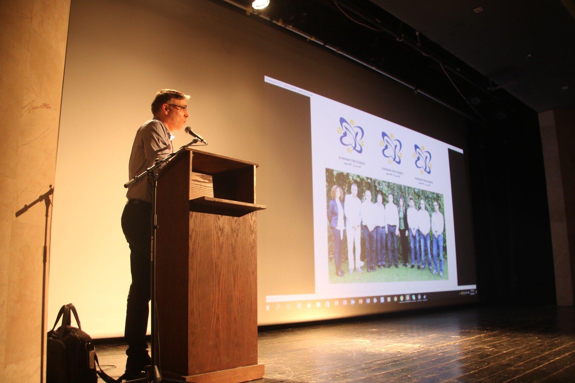 محاضرة للبروفيسور حايك، حول الطب في عام 2050
