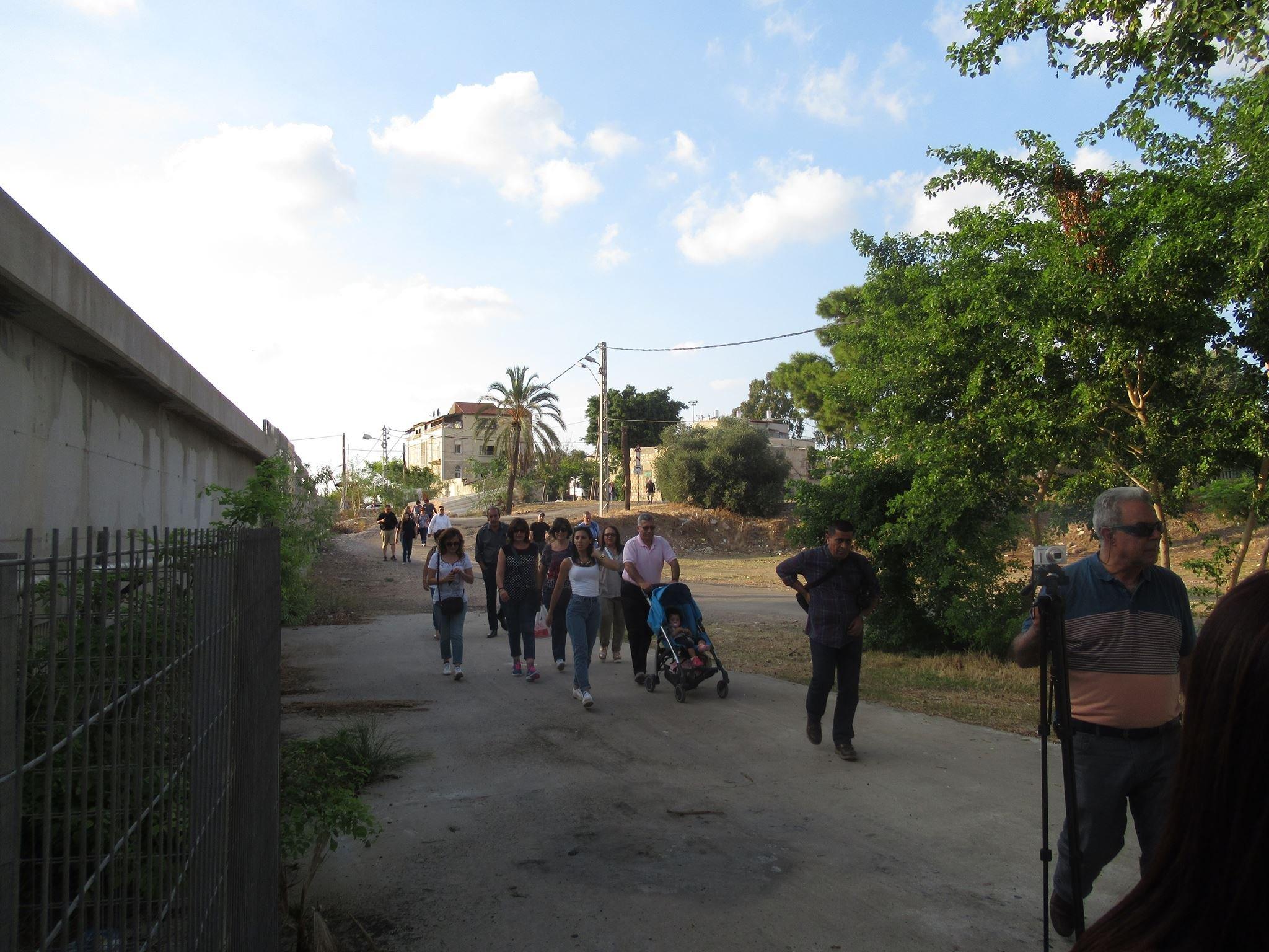 جولة في حي العتيقة الحيفاوي- محطة الكرمل العريق