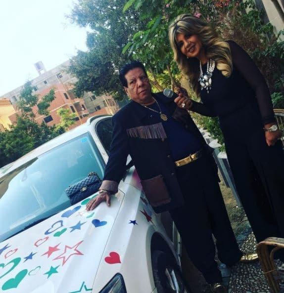 شعبان عبد الرحيم يتصدر مواقع التواصل بسبب سيارته