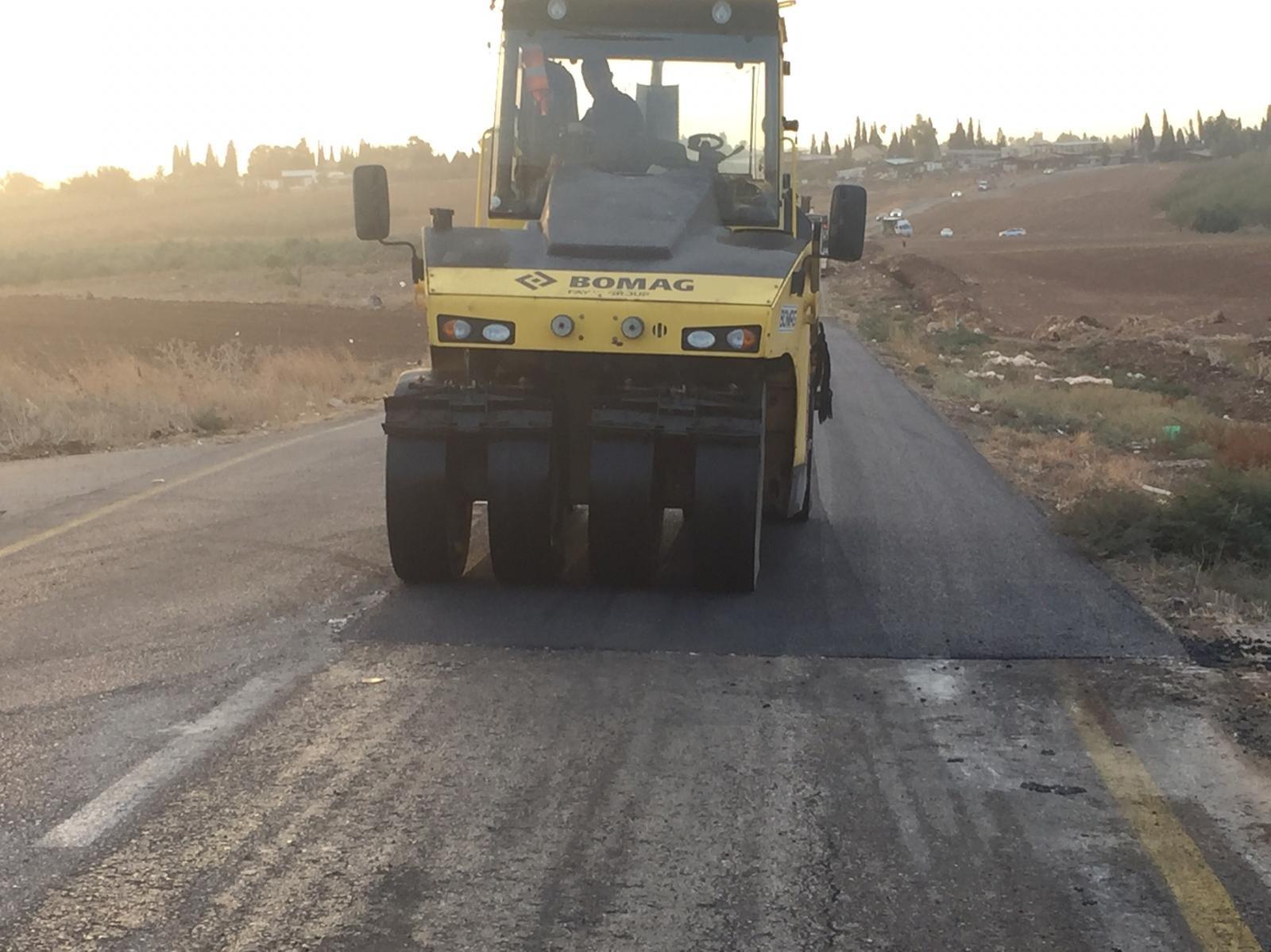 بعد جولة لإدارة المجلس مع طاقم نتيفي يسرائيل، وزيارة للوزير: البدء بتعبيد وصيانة شارع سولم