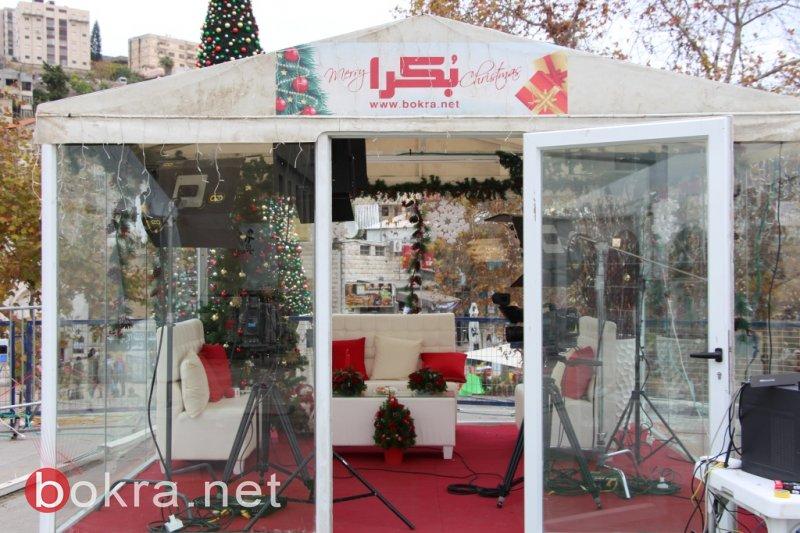 الناصرة: موعدنا اليوم في استوديو بكرا كريسماس