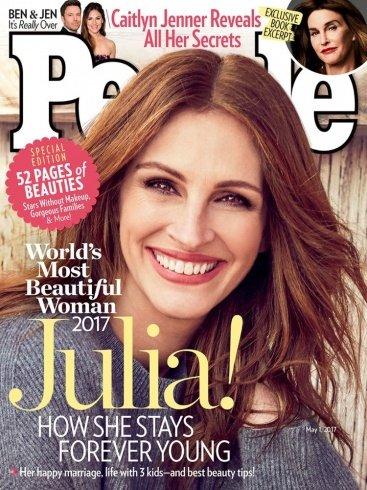 جوليا روبرتس أجمل امرأة في العالم للمرة الخامسة ما سرّها!؟