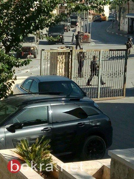 إصابة شاب برصاص اسرائيلي خلال مواجهات في ابو ديس