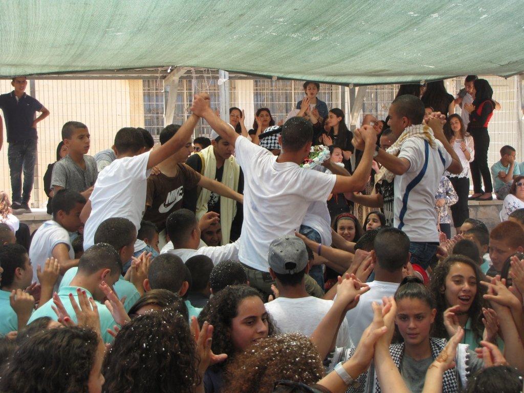 يوم التراث وعرس في المدرسة الإعدادية الحديقة يافة الناصرة