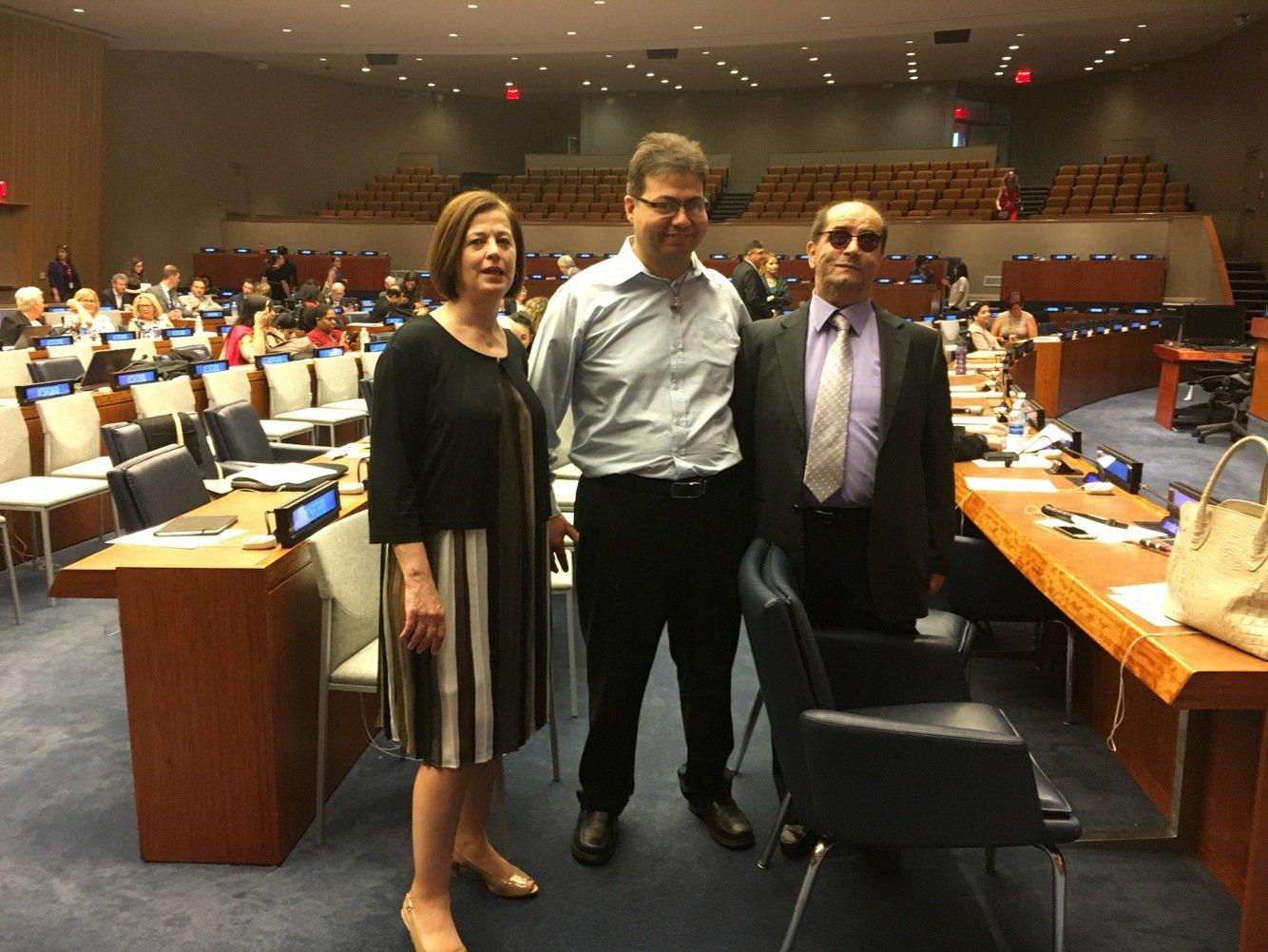 مشاركة تاريخية لجمعية المنارة في الأمم المتحدة