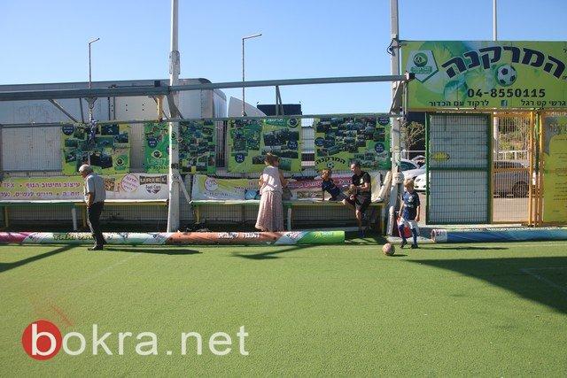 صور وفيديو: اختتام دورة كرة القدم بحيفا وحفل تخريج للاعبين من الجليل والمثلث