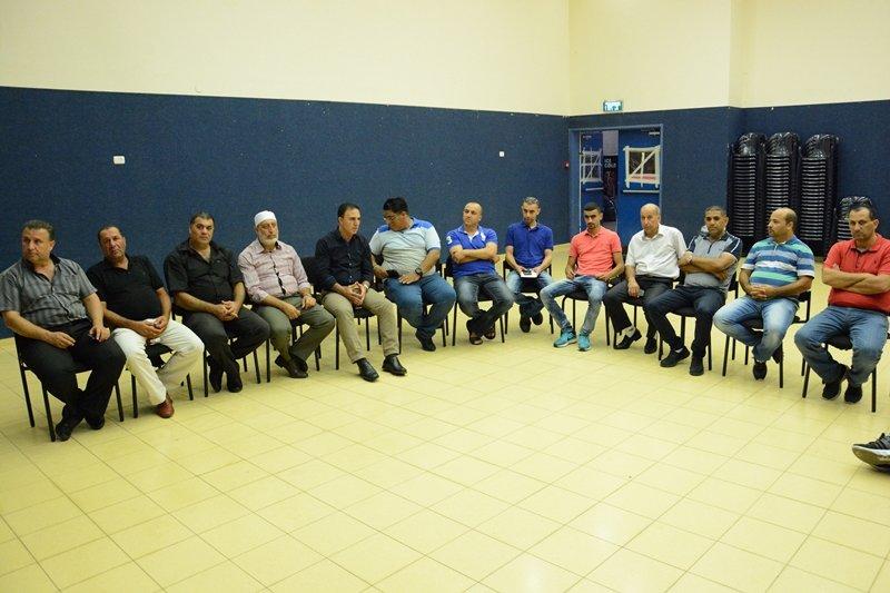 مجلس كفرمندا في لقاء مع الجمهور لمناقشة التخطيط للخارطة الهيكلية الشمولية