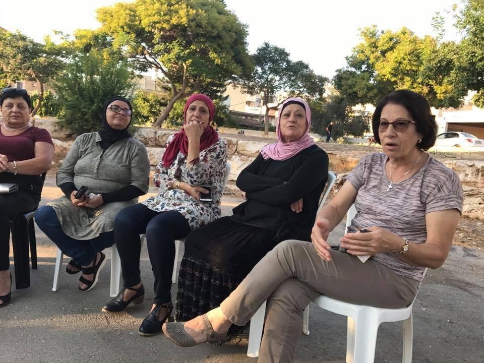 نساء القلعة في شفاعمرو مستمرات في حملة مشوارنا