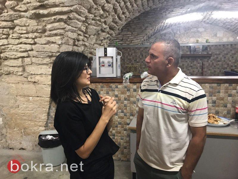 محاضرة شيقة لدكتور الياس عطا الله في نادي البلدة القديمة بالناصرة