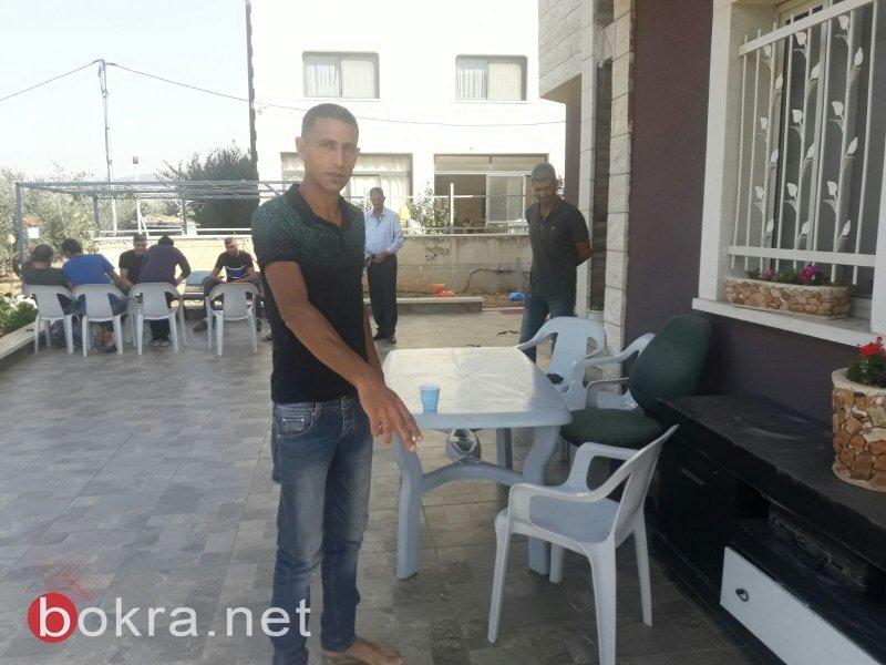 رسالة تهديد وبداخلها رصاصتين تصل بيت احمد خطيب من عرابة