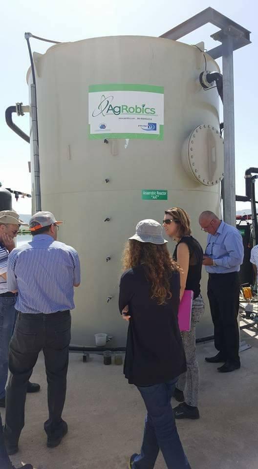 يوم الخميس المقبل افتتاح تقنية اغروبكس لمعالجة المياه العادمة