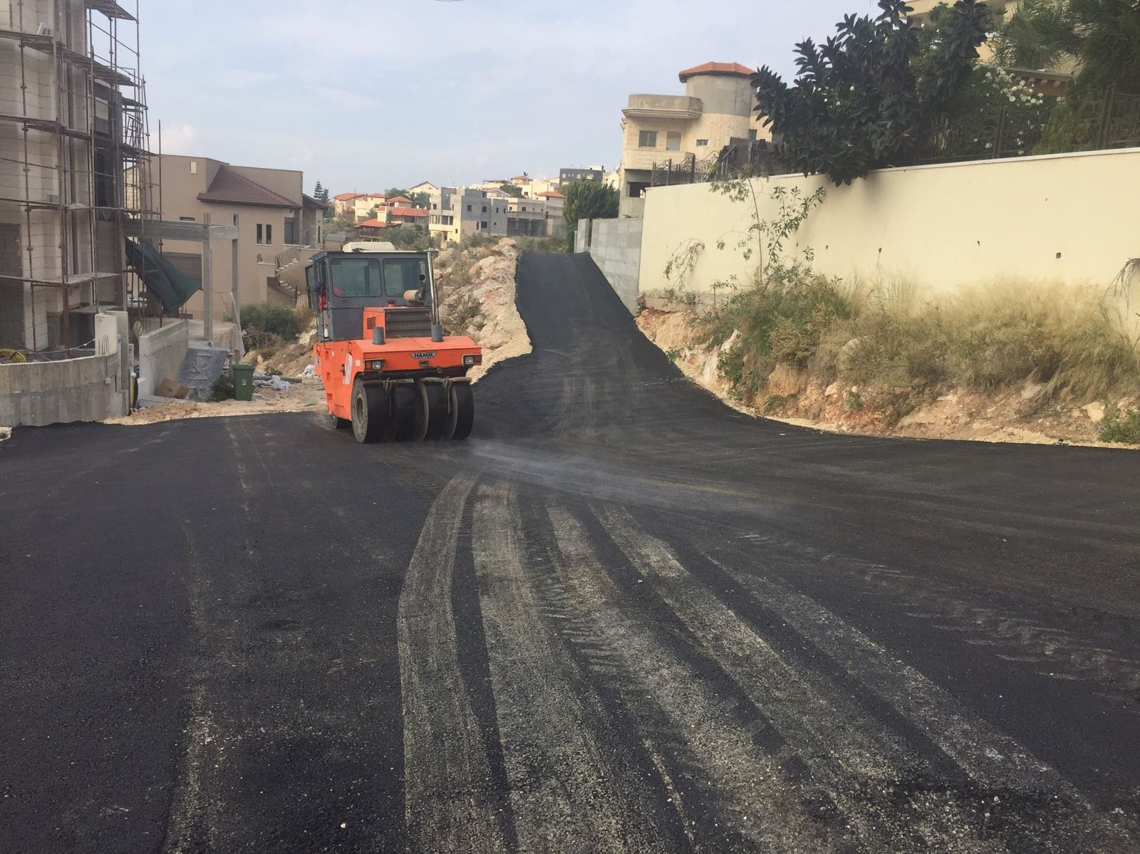 بلدية شفاعمرو: إنجاز وتنفيذ مشاريع بنية تحتية بـ 3.6 مليون شاقل