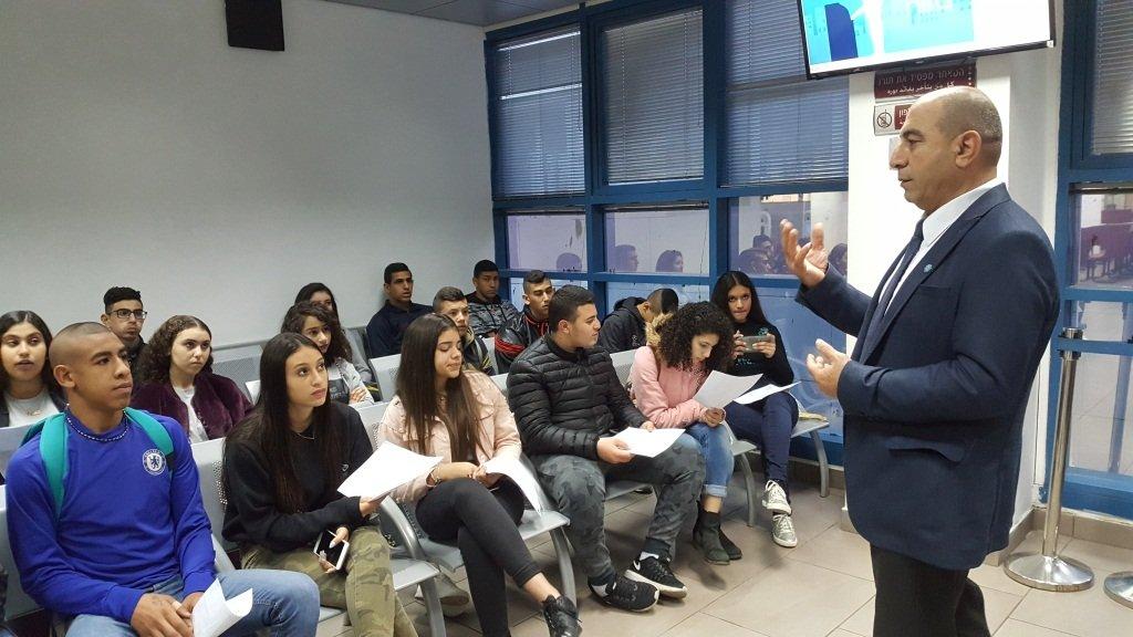 نجاح مشروع ( الهوية) في مدرسة أورط على أسم حلمي الشافعي عكا