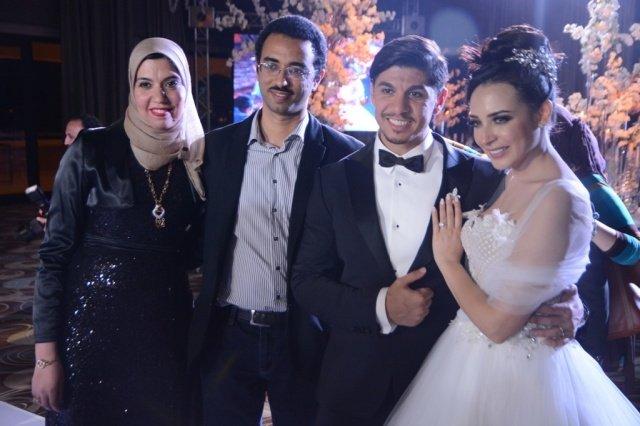 صور من من حفل زفاف المطربة ساندي