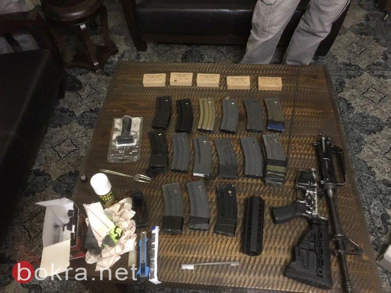 بالصور: ضبط أسلحة في دبورية وتصريح ادعاء عام ضد مشتبهين