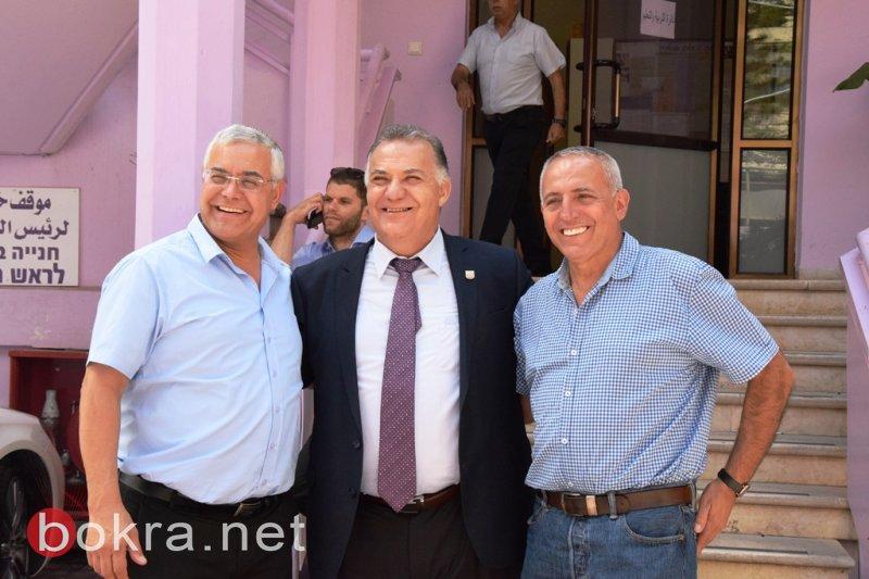 هذه هي المشاريع التي أعلن عنها بالأمس بجلسة وزير المواصلات في بلدية الناصرة