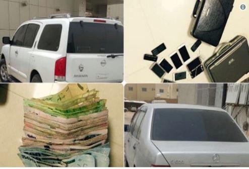 اعتقال عائلة ثرية تتسول بـسيارات فارهة .. في السعودية!