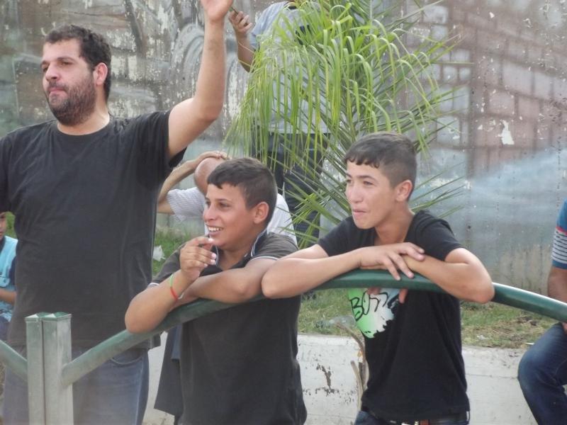 الطيبة: مظاهرة نصرة للأقصى بعد أحداث اليوم
