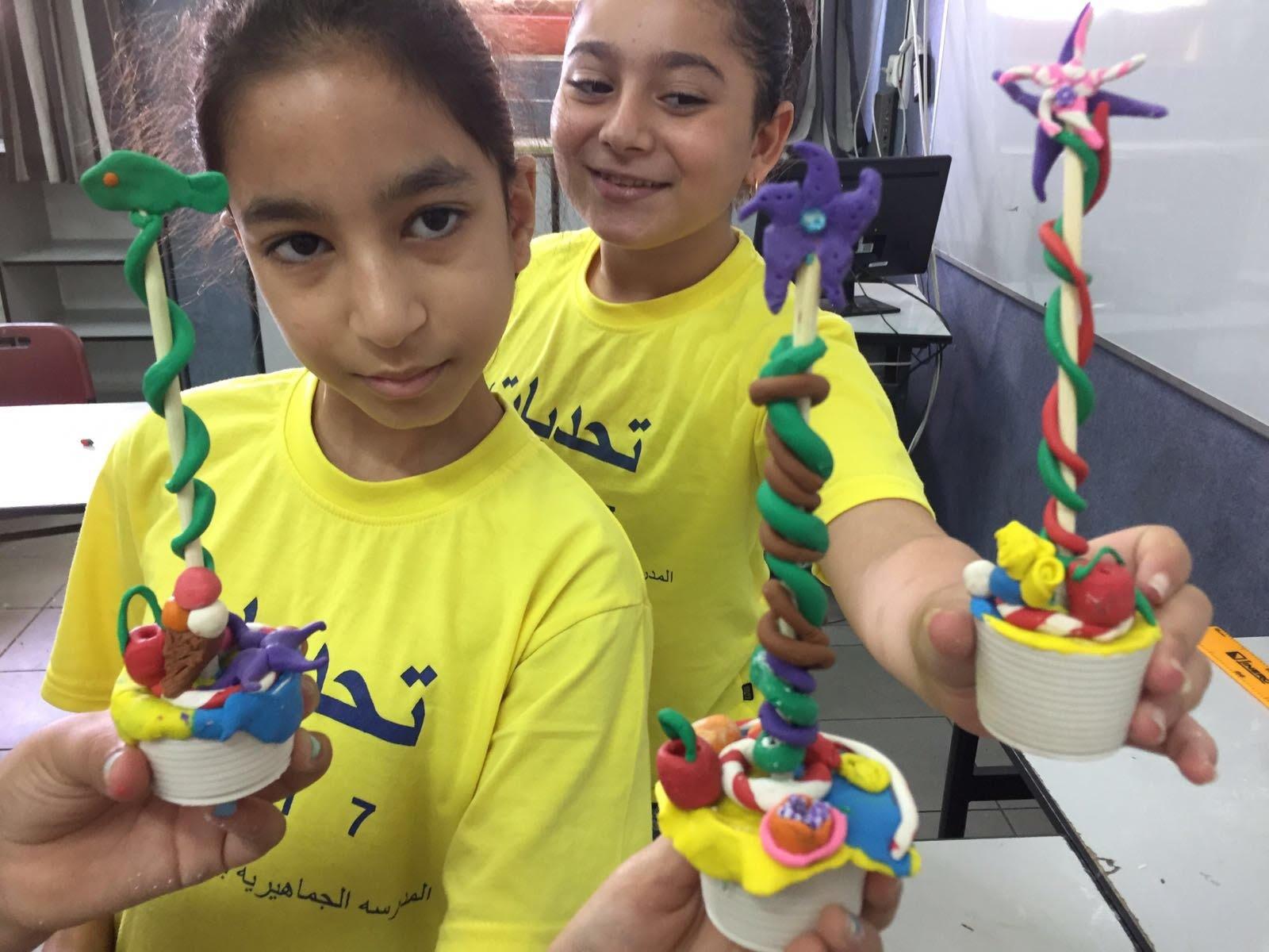 المدرسة الجماهيرية بير الامير تختم مخيمها الصيفيّ