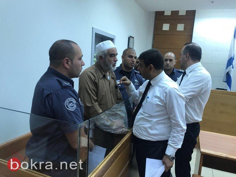 تمديد اعتقال الشيخ رائد صلاح والإعلان عن النية لتقديم لائحة اتهام خطيرة ضده!