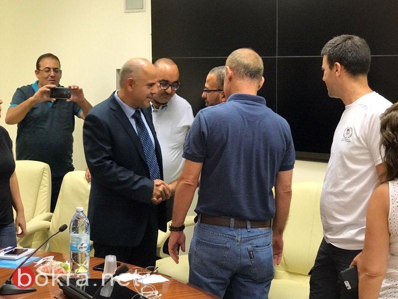 مدير عام وزارة المعارف يلتقي مديري وحدات الشبيبة في المجتمع العربي..