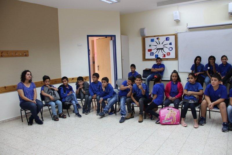 مدرسة ابن رشد الابتدائية – عرابة تُبدِع بيوم الفنون
