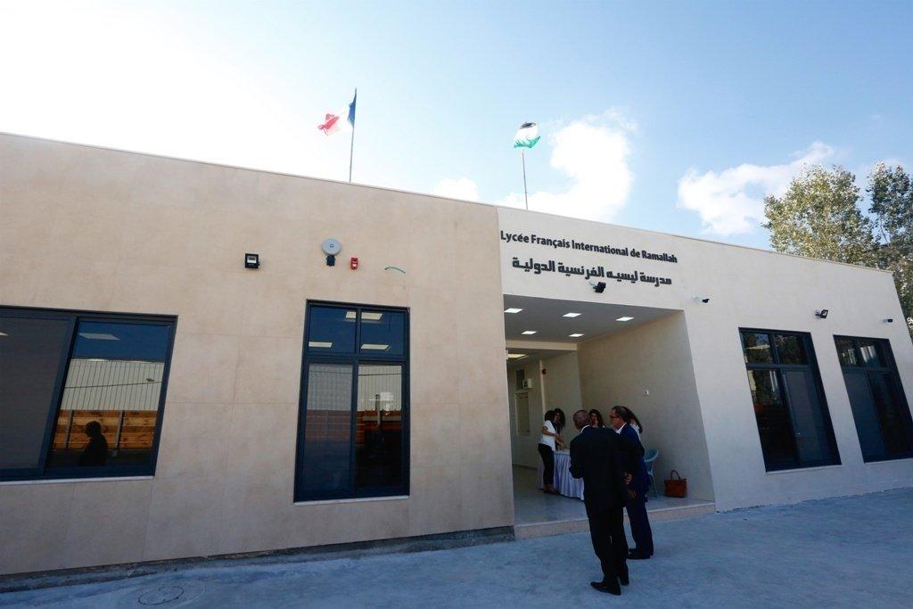 افتتاح مدرسة الليسيه الفرنسية الدولية في رام الله