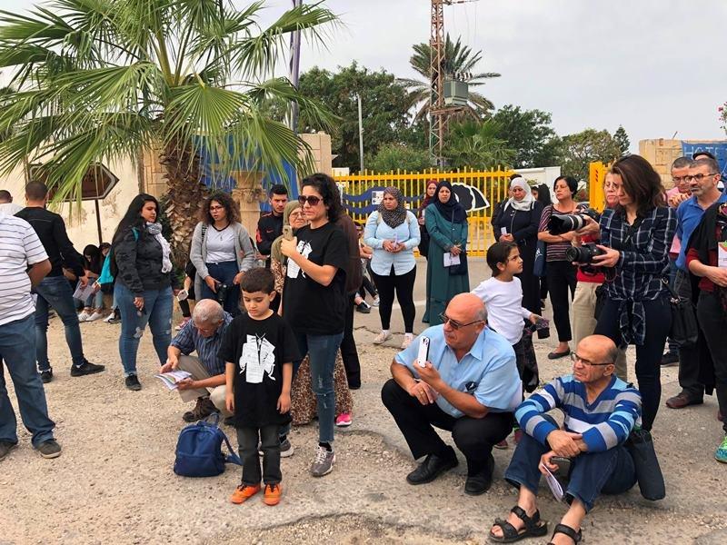 زيارة الى قرية الطنطورة المهجرة، نظمتها جمعية الدفاع عن حقوق المهجرين