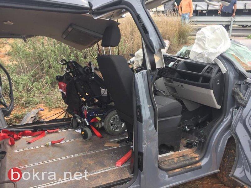 4 إصابات بينها خطيرة جدًا بحادث مروع قرب باقة الغربية