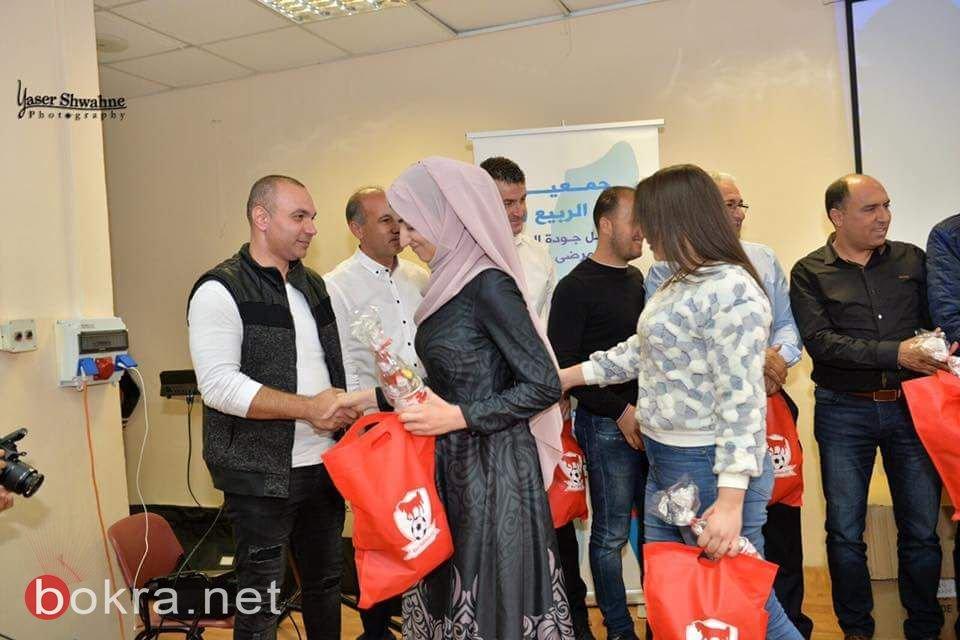 إهتمام وسائل الاعلام بلقاء خيري ودعم جمعية أشواق الربيع في بلدية سخنين