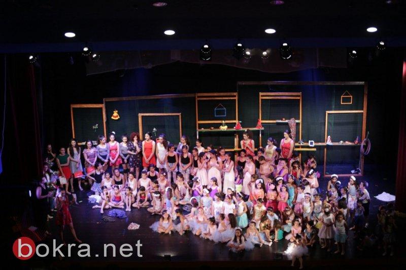 مدرسة عايدة للباليه والرقص المعاصر في الناصرة تحتفل بعام أول من الإنجازات