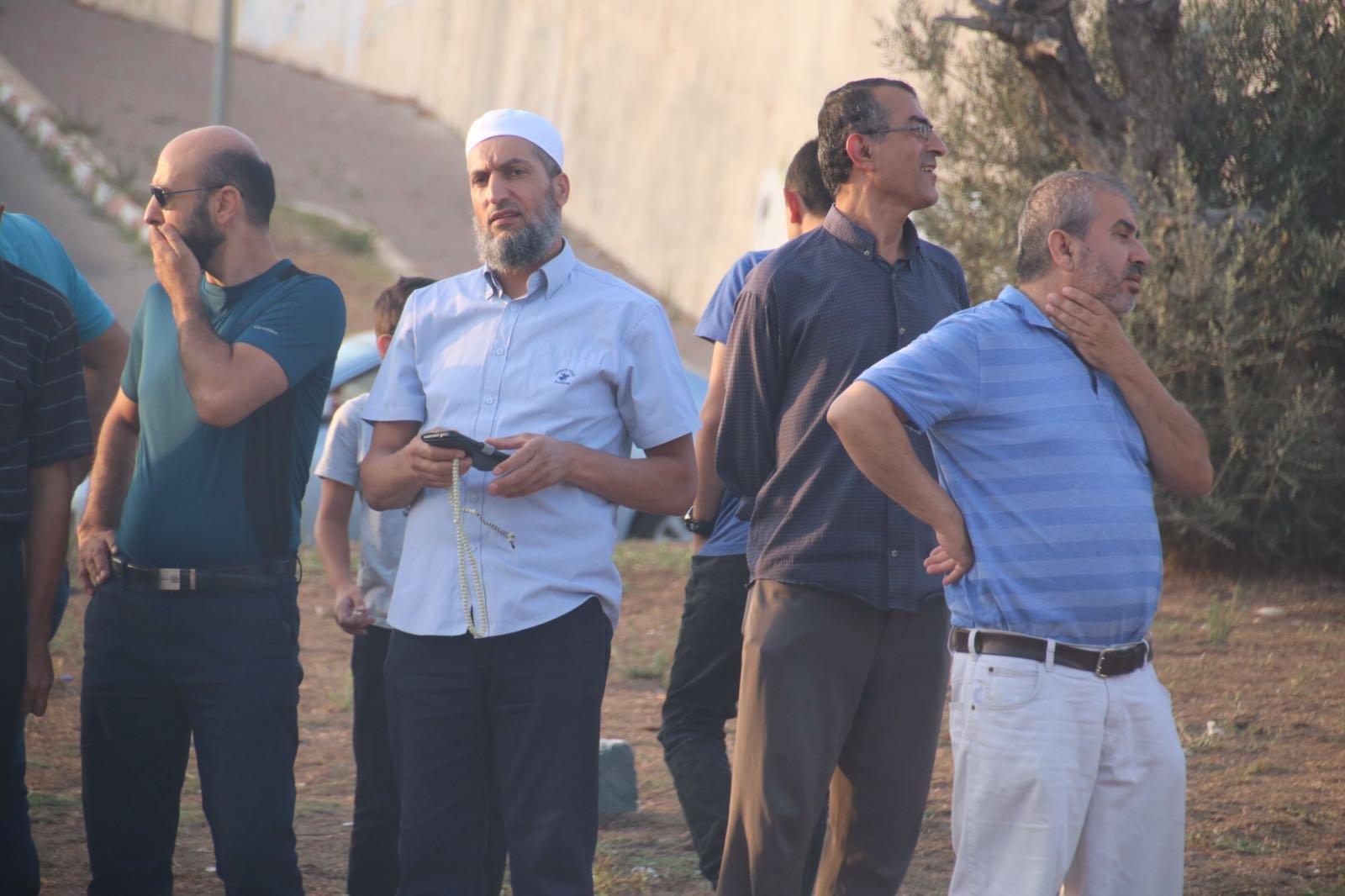 ام الفحم : مظاهرة صاخبة نصرة للقدس والاقصى وسط تواجد مكثف للشرطة